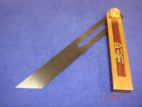 "Joseph Marples TRIAL 1  Rosewood Carpenters Sliding Bevel 230mm 9"" Sheffield T20"